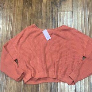 oversized target sweater